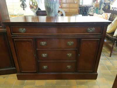 Vintage solid wood buffet, dresser, tv console, changing table, etc $300