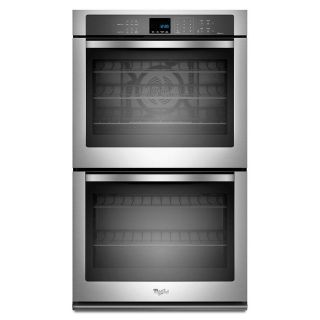"""Whirlpool Gold 30"""" Stainless Double Oven WOD93EC0AS"""