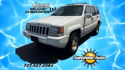 1996 Jeep Grand Cherokee Limited (White)