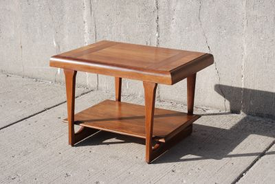 Lane Brutalist Side End or Coffee Table