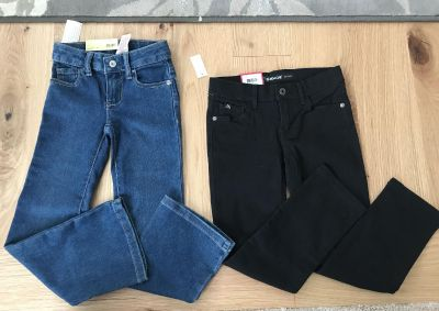 Girls - size 6S jeans - 2 pairs!