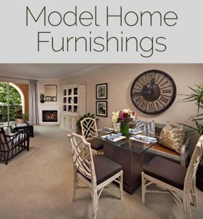 Model Home Furnishings and Decor