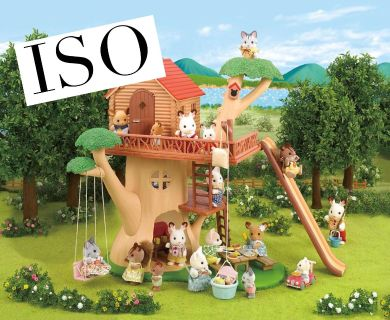 In Search Of any Calico Critters stuff