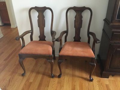 2 Dining Room Arm Chairs
