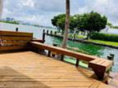 Biscayne Park Real Estate Rental - Two BR 2 1/Two BA Townhouse Apartment