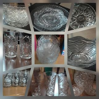 Antique/crystal glass
