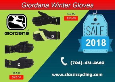 Big Sale on Giordana Men's Winter Cycling Gloves – 28144, NC