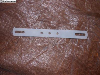 Rear License plate bracket,from a Karmann Ghia