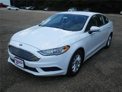 2018 Ford Fusion S (Oxford White)