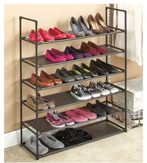 NEW 6-Tier Storage Shoe Rack (easy assembly required)