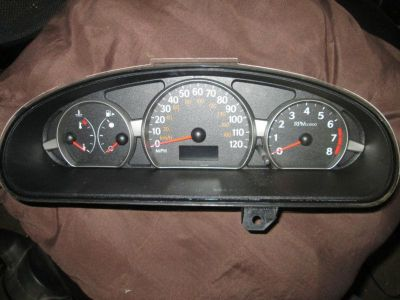 Purchase 2003 2004 Saturn Ion speedometer instrument cluster motorcycle in Harmony, Pennsylvania, US, for US $40.00