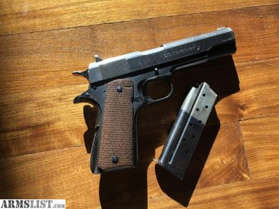 For Sale/Trade: Colt 1911 38 super first year production