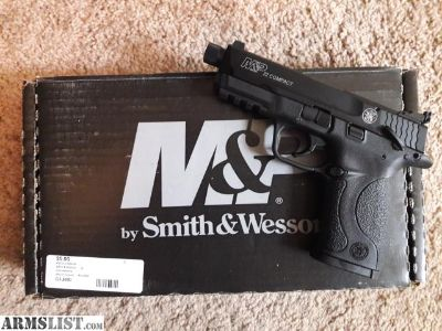For Sale: S&W M&P .22 compact w/threaded adapter