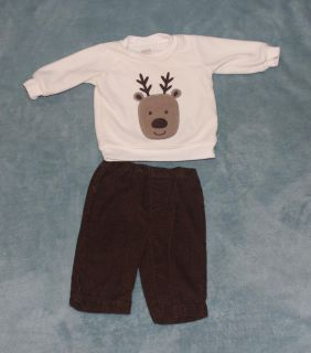0 - 3 Months Deer Outfit