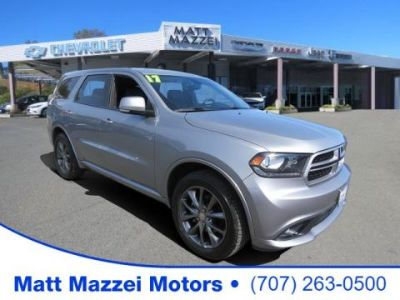 2017 Dodge Durango Crew (Granite Metallic Clearcoat)