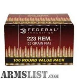 For Sale: 800 rounds of American Eagle 223s