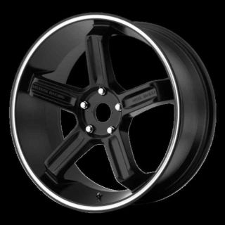"Sell 20"" WHEELS RIMS MOTEGI MR122 BLACK INTEGRA CALIBER RX8 motorcycle in Addison, Illinois, US, for US $729.00"