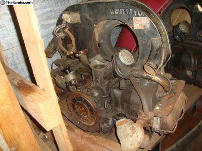 40 hp engine, needs work