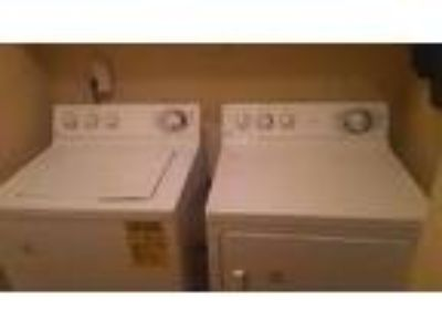 Ge Full Size Washer and Dryer