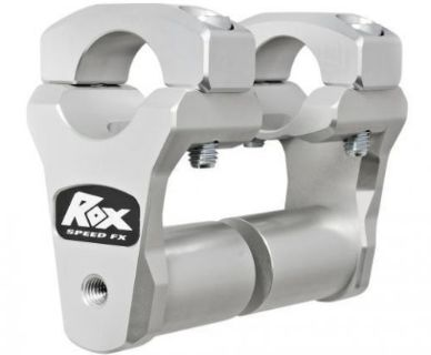 Find Rox Speed FX Billet Pivoting Handlebar Risers Matte Silver (1R-P2PPS10A) motorcycle in Holland, Michigan, United States, for US $115.41