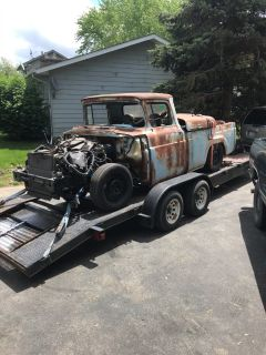 1959 Ford truck on 05 chassis