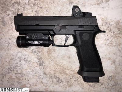 For Sale: P320 X-Five Romeo 1 TLR-1HL