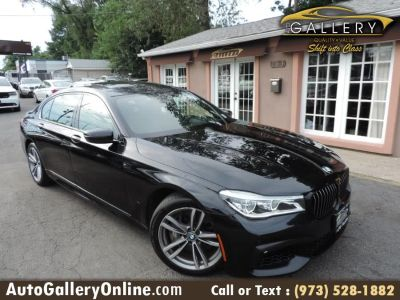 2016 BMW 7-Series 4dr Sdn 750i xDrive AWD (Azurite Black Metallic)