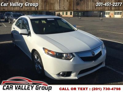 2013 Acura TSX Base w/Tech (White)