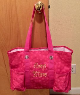Thirty One Organizing Shoulder Tote, Lots of Pockets