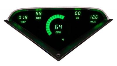 Sell Chevy Truck DIGITAL DASH PANEL FOR 1955-1959 Gauge GMC Intellitronix GREEN LEDs! motorcycle in Eastlake, Ohio, United States, for US $197.95