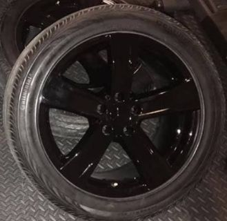 Mercedes rims and tires