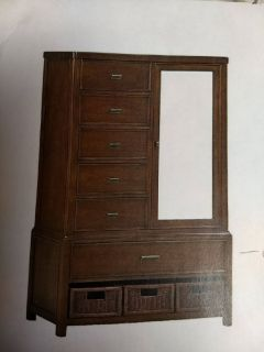 Chestnut Door Chest and drawers