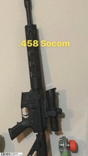 For Sale: .458 Socom
