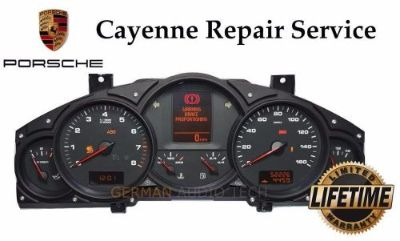 Sell PORSCHE CAYENNE INSTRUMENT SPEEDOMETER CLUSTER 2003 - 2006 - REPAIR SERVICE FIX motorcycle in Long Beach, California, United States, for US $225.00