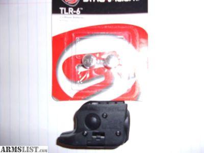 For Sale: TLR-6 Light & red laser fits G43 and G42