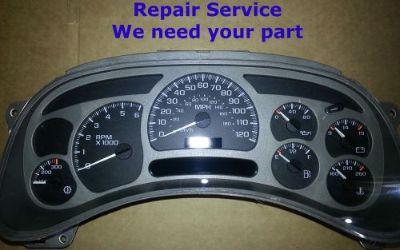 Sell Repair Rebuild SERVICE 2005 GMC Yukon XL DENALI Gauge Cluster Speedometer motorcycle in Racine, Wisconsin, United States, for US $64.97