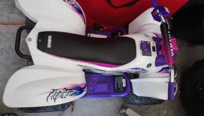 **Yamaha Raptor ATV 12-Volt Battery-Powered Ride** EXCELLENT CONDITION!!!