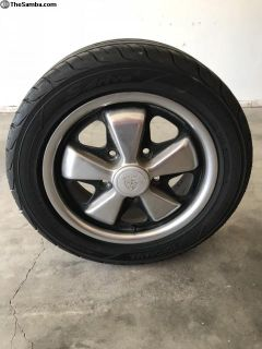 Porsche Fuchs, set of 4, new tires