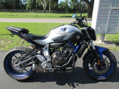 2016 Yamaha FZ07 (Blue)