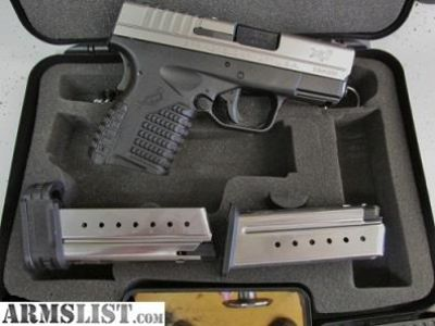 For Sale: NEW Springfield xds 9mm Stainless