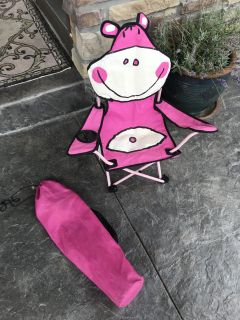 Kids Outdoor chair with carry bag