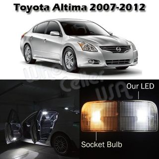 Buy 6 White LED Interior Lamp Light Package For Nissan Altima 2007-2012 Sedan Coupe motorcycle in Cupertino, CA, US, for US $14.99
