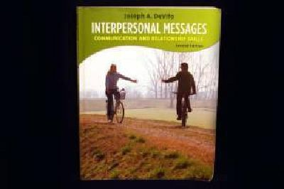 $25 CCV Textbook - Interpersonal Messages