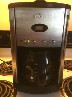 Pre Owned Genvalia Stainless Steel Coffee Maker