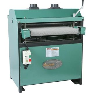 "1066R grizzly 24"" drum sander"