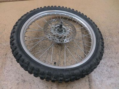 Find 1997 97 Honda CR250 CR 250 Front Wheel Assembly Tire Rim Axle Hub Rotor motorcycle in Escondido, California, US, for US $25.20