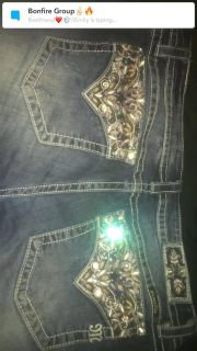 Miss me jeans size 34 bootcut.