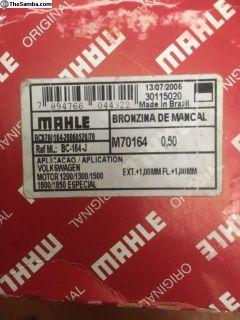 NOS Main Bearing Mahle (111 198 485 O)