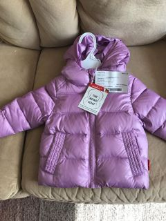 The road coat car seat safe puffy coat. Awesome coat!!! Only used for one winter.