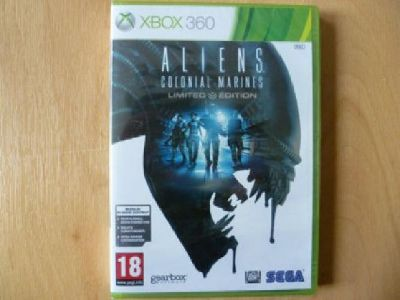 Aliens Colonial Marines Limited Edition - SEGA NEW & SEALED PAL XBOX 360